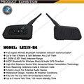 20 UNIDS Envío Libre 1200 M de La Motocicleta Del Casco de Bluetooth Intercom hasta 6 jinetes BT Wireless Impermeable Interphone Auriculares MP3