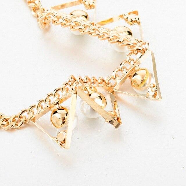Фото женское винтажное жемчужное ожерелье chicvie золотое и кулоны цена