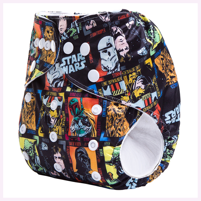 Ananbaby Reusable Cloth Nappy Star Wars
