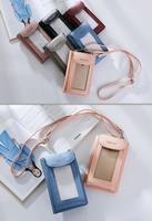 Shoulder Belt Touch Screen Mobile Phone PU Case For Nokia 3 Oukitel U20 Plus U15S U15