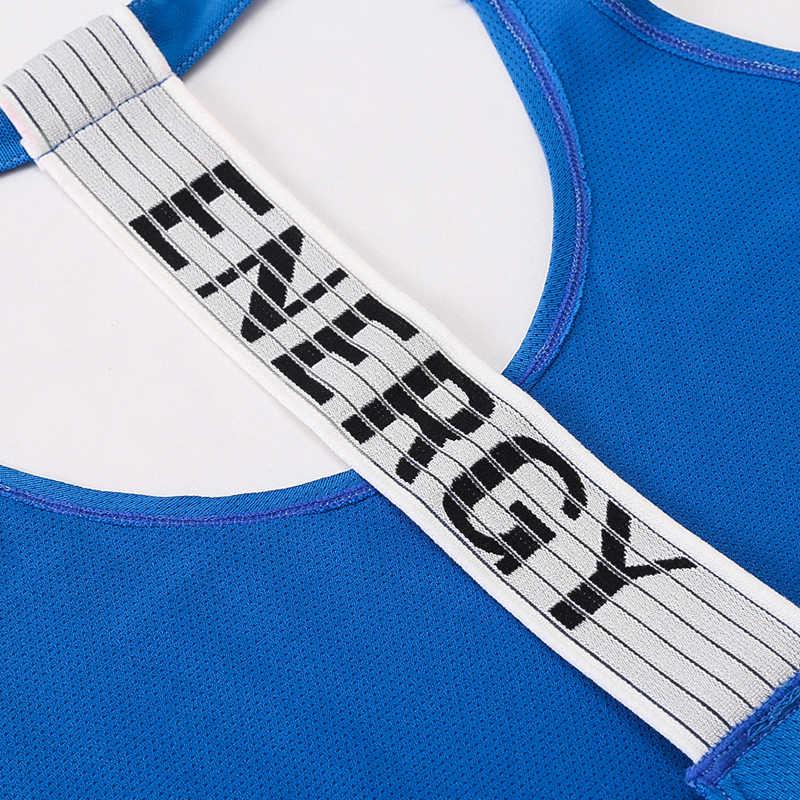 Yuerlian Kwaliteit 15% Spandex Fitness Sport Yoga Shirt Snel Droog Mouwloos Running Vest Workout Crop Top Vrouwelijke T-shirt