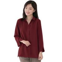 Plus Size Woman Casual Chiffon Blouse Shirt Long Sleeve Clothing Loose Women's Tops and Blouses 5Xl 6XL Feminina Blusas