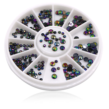 5pcs Nail Art Design Acrylic Supplies Gel Tips Be Diy Crystal Rhinestone Decorations Decals Manicure Tools