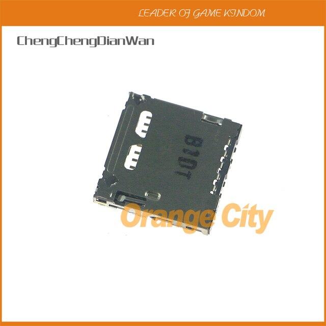 ChengChengDianWan Original used sd Card Slot Socket SD Card Reader For psv1000 psv2000 psvtia 1pc