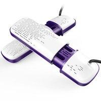 Dual Core PTC Constant Temperature Electric Shoe Dryer Timing Sterilization Deodorant Shoes Dryer High Quality Flame