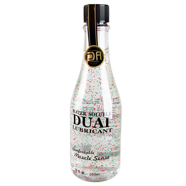 DUAI 260ml di lubrificante per il sesso silk touch Lubrificante Anale olio da massaggio Lubrificante Personale a base di acqua lubrificante per adulti prodotti del sesso