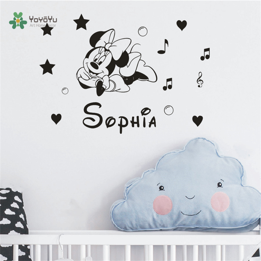 Grils Room Decoration Wall Stickers