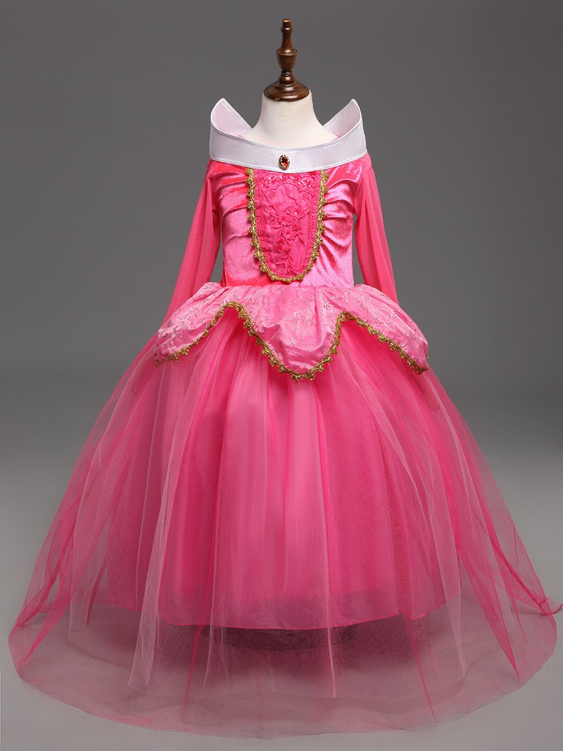 Sleeping Beauty Dress Girl (7)