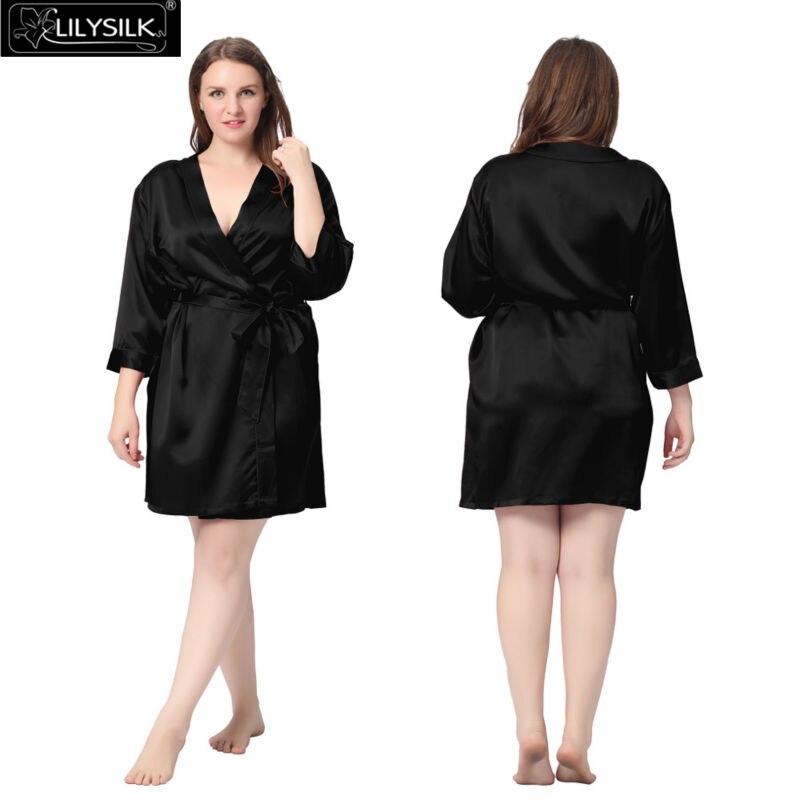 1000-black-22-momme-mini-cut-silk-robe-plus-size-01