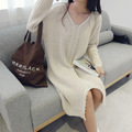 Maternity clothing winter long sweaters casual warm tops wear pregnant women fashion clothing high quality wear