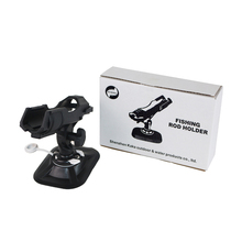 fishing rod holder device pole pvc inflatable boat accessory sup board kayak clamp holder mount angle direction adjustable B0098