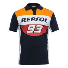 2018 Nova Moto GP Marquez 93 Polo Camisa Camisa Motocross ATV