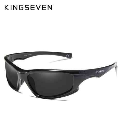 KINGSEVEN DESIGN Sunglasses Men Driving Male Polarized Sunglasses Vintage Frame Eyewear Oculos Gafas UV400 Goggle Islamabad