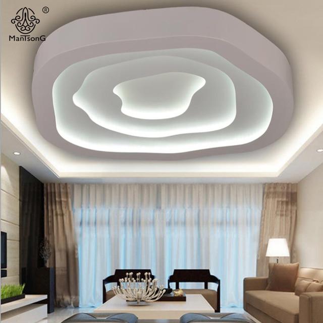Apparecchi di Illuminazione a LED Plafoniera Moderna Acrilico ...