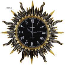 Fashion vintage wall clock personalized mute brief resin quartz pocket watch