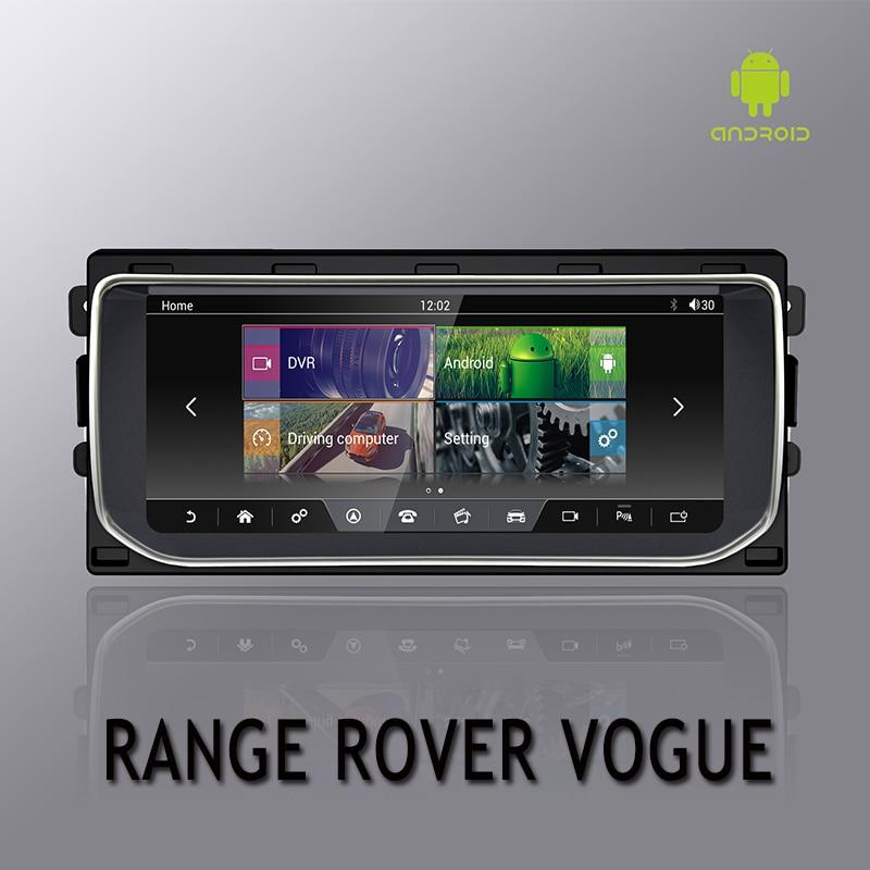NVTECH Multimediale di Navigazione GPS Per RANGE ROVER VOGUE Cruscotto Android 7.1 Bluetooth RAM + ROM 2 + 32 GB Lettore 10.25 ''2013-2016