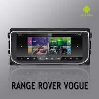 NVTECH multimédia Navigation GPS pour RANGE ROVER VOGUE tableau de bord Android 7.1 Bluetooth RAM + ROM 2 + 32 GB lecteur 10.25 ''2013-2016