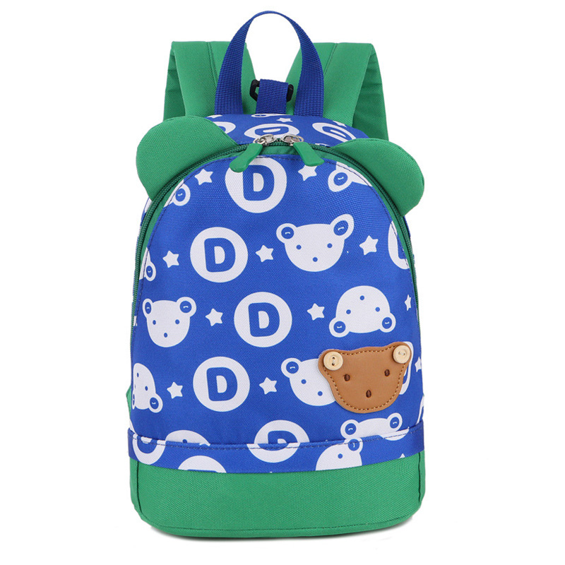 ... small bag children kindergarten backpack. 2018 New School Bags  Anti-lost Kids Baby Bag Cute Bear Pattern Backpacks For Boys 2f804cc2db