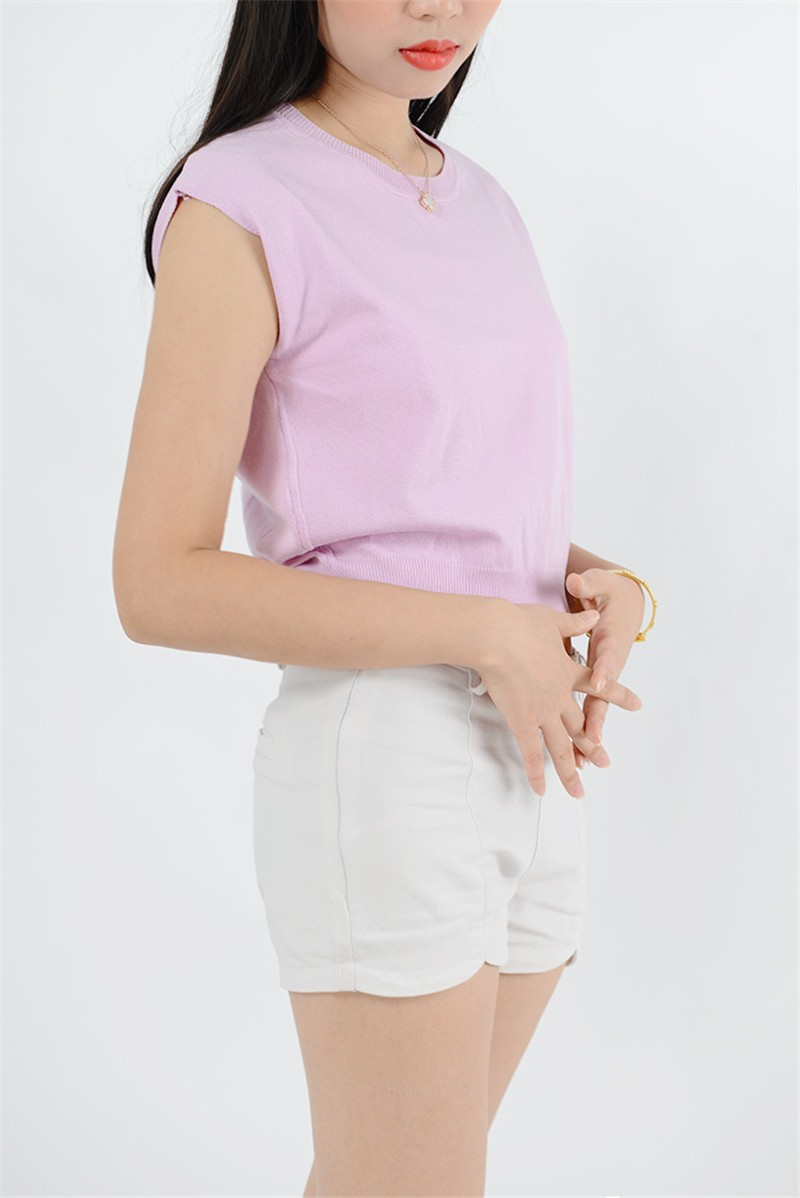 Summer 2016 Solid knitted short Pullover Sweater (24)