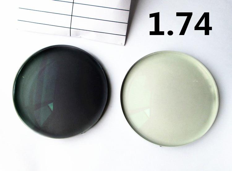 1.74 Photochromic Optical Lenses Aspherical HMC Super