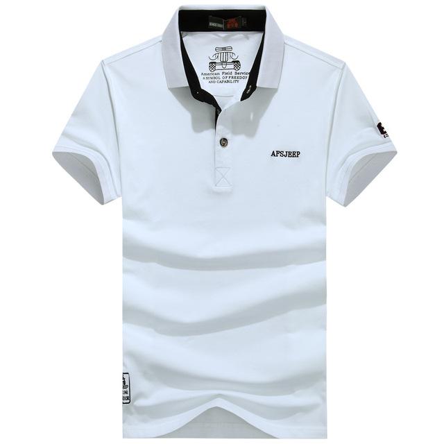 Free Shipping AFS JEEP New Brand Business Boss Ralphmen Polo Shirts Men Classic Male Cotton Polo Shirts Camisas Masculina