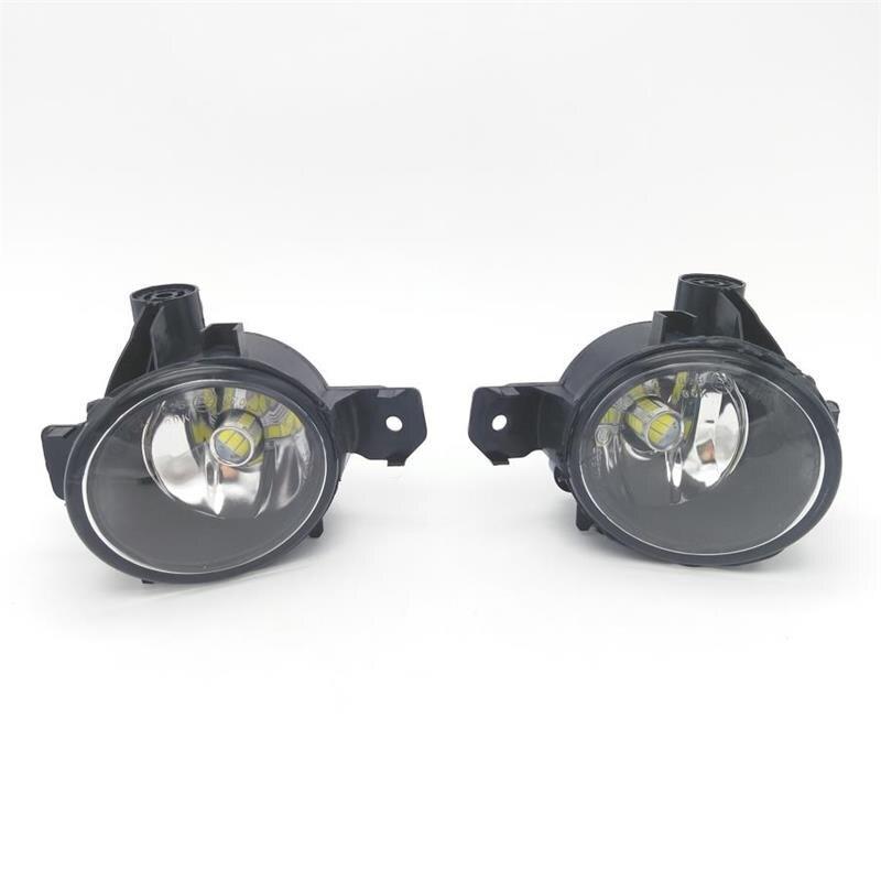 2pcs Car LED For BMW 1 Series E81 E82 E87 2008 2009 2010 2011 2012 2013 New LED MTECH M TECH REPLACEMENT CLEAR FOG LIGHT LAMP for nissan qashqai 2008 2009 2010 2011 2012 2013 car inner decoration trim