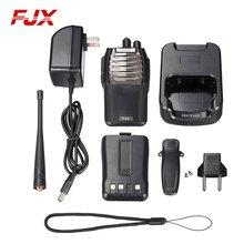 FJX F36 Black 2500mAh Li-ion Battery Walkie Talkie Handheld Two Way Radio Communicator Transceiver Portable Walkie Talkie5KM