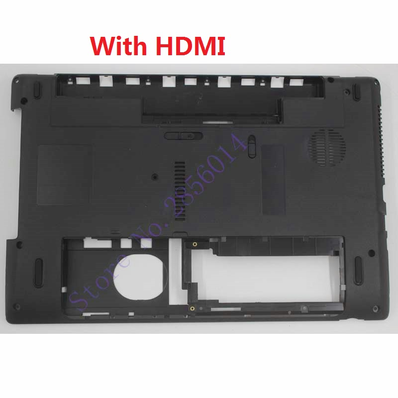 Laptop Bottom Case For Acer Aspire 5742 5252 5253 5336 5552 5552G 5736 5736G 5736Z 5742Z Base Cover With HDMI