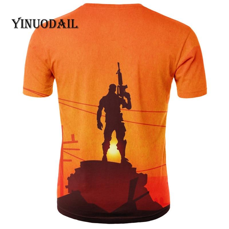 Summer Battle Game 3D Printed T-Shirt Men Hip Hop Warm Men Casual Shirt Men R For Kids Children Tshirt