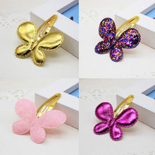 1 Pcs Chic Baby Sequins Heart Butterfly Barrettes Glitter Stars BB Hair clips Girls Hairpins Hearwear Hair Accessories(China)