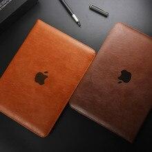 Para ipad mini case cubierta de cuero de lujo case para ipad mini 2 para apple ipad mini 1/2/3/4 magnética con auto de la estela hasta 7.9″