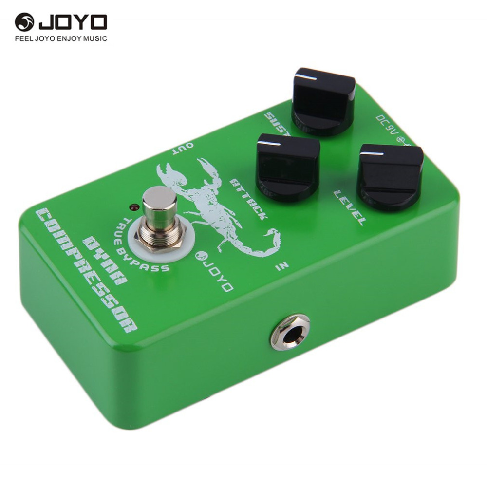 Joyo JF-01 Vintage Overdrive Guitar Effect Pedal True Bypass for Electric Guitar Replacement Parts agr 3 greenizer vintage overdrive guitar effect pedal aroma mini analogue guitar accessories with true bypass footswitch