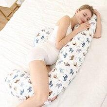 Удобная Подушка для беременных и кормящих с длинной стороны для сна подушка для тела для беременных женщин для кормления ребенка u-образный мультфильм подушки для беременных