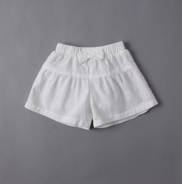 Toddler Girls for Baby Summer Brief Shorts Bow Kids Solid Casual Cool  Clothes Wholesale Boutique Children 2904b7f9f289