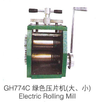 Mini Gold Rolling Mill with hand operation jewelry rolling mill with Maximum opening