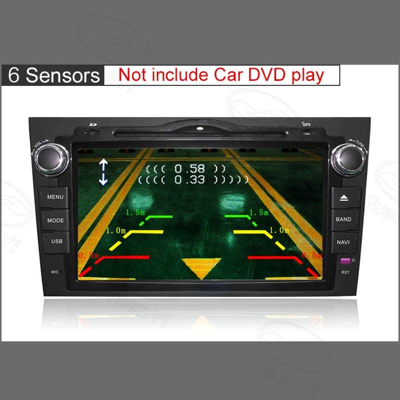 3d643dad593 2019 GreenYi Dual Channel Car Video Front Rear Parking Reverse Radar ...