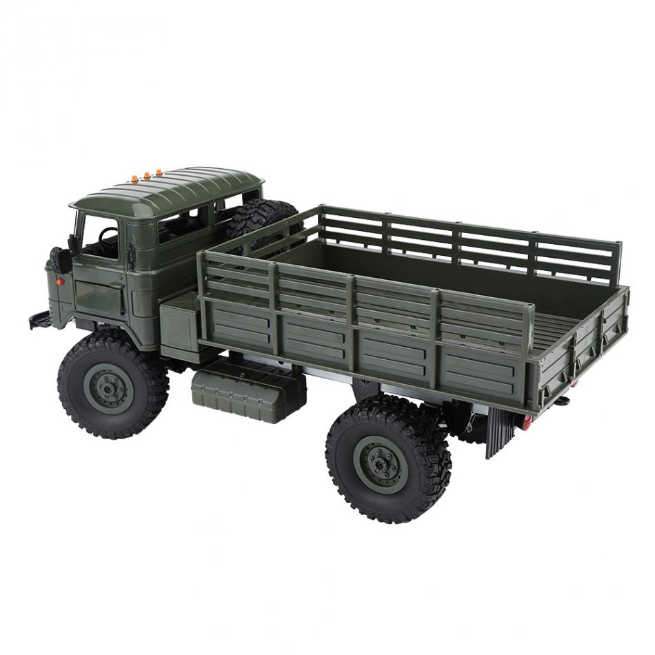 1:16 2.4GHz 4CH RC Crawler Military Climbing Truck Remote Control Vehicle Toy Anti-colli ...