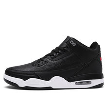 Brand Basketball Shoes Men High-top Sports Air Cushion Jordan New Hombre Athletic Mens Shoes Comfortable Breathable Sneakers(China)