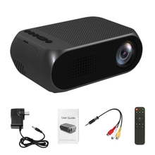 Portable Mini Projector LED Movie Projector Home Theater Cinema Media Intelligent Display for Video Conference System AU Plug