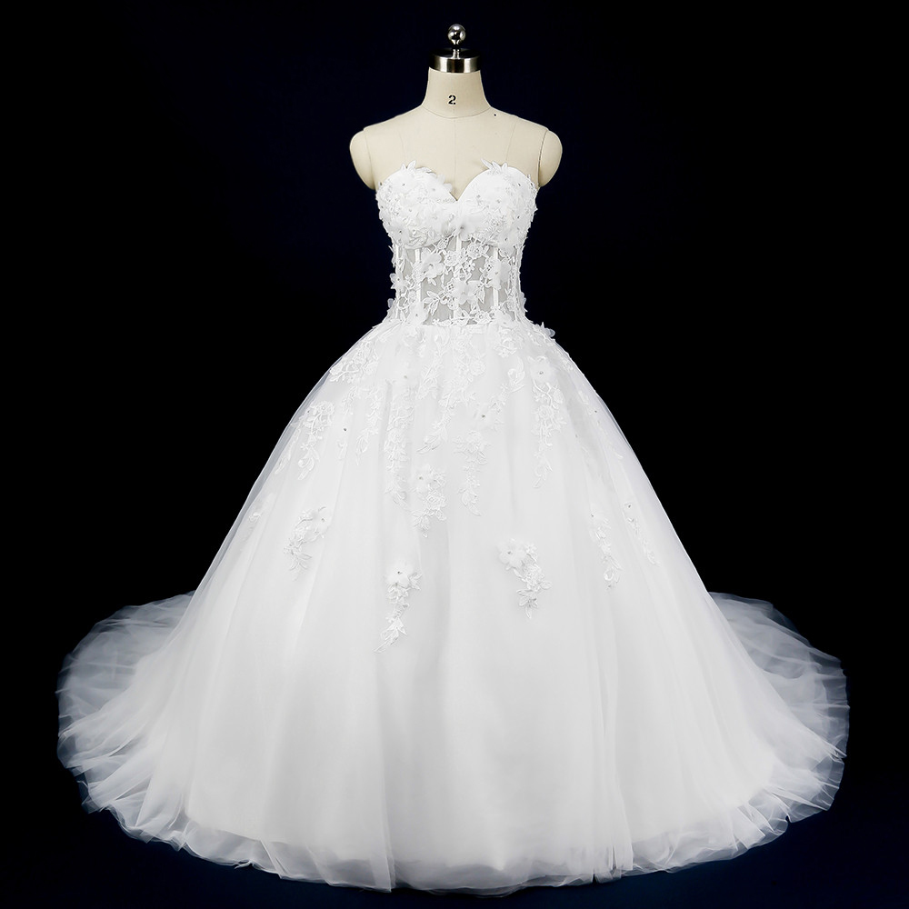 Buy white wedding dresses ball gown for Buying wedding dress from china
