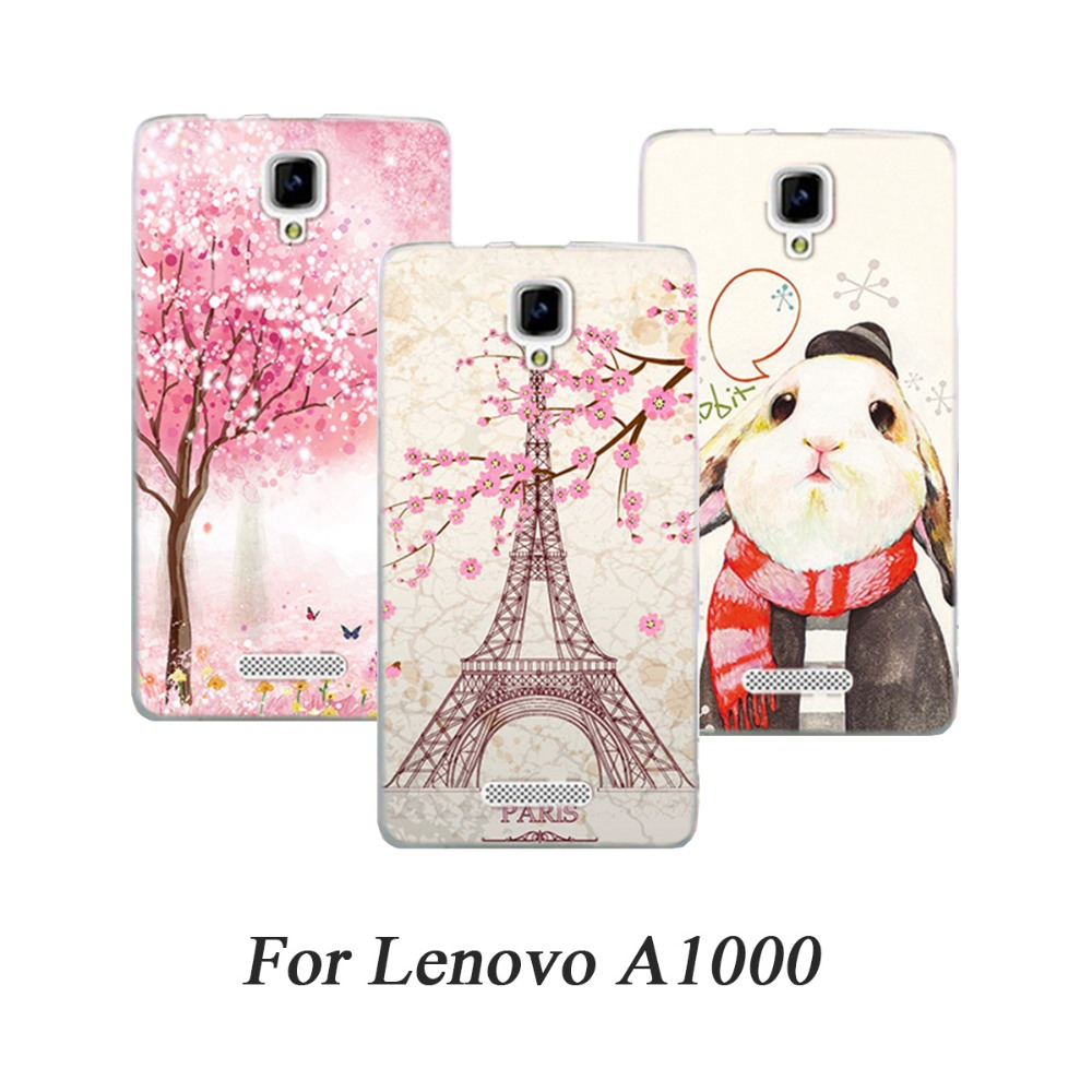 Phone Case For Lenovo A1000 Cases Hard Painted Back Cover For Lenovo K5 Note Zuk Z1 K5 Plus P1M A316 S820 A328 S860 P780 Fundas