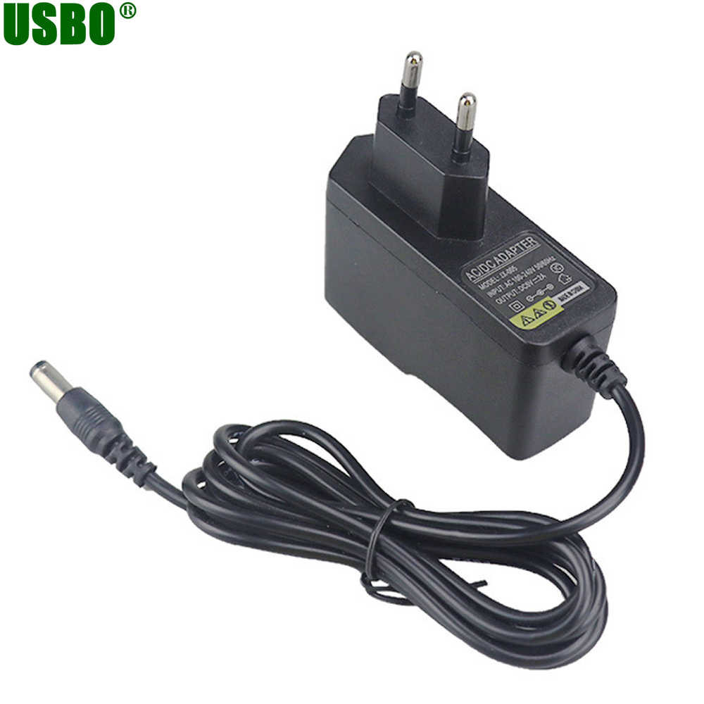 Grosir 1 M 6 V 1A Uni Eropa US UK AC Ke DC Power Adapter 5.5*2.5 Mm 5.5*2.1 Mm 100-240 V Supply Charger untuk Meteran Glukosa Darah