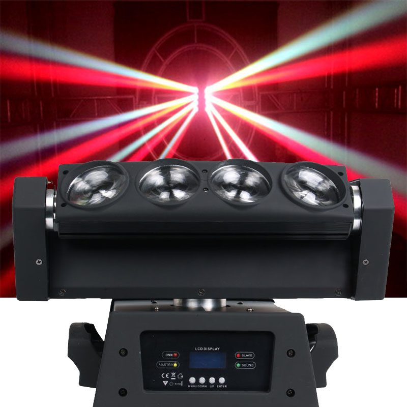 8x10W RGBW 4IN1 Led Spider Moving Head Light DMX LED Stage Effect Show Beam Moving Head Dj Stage Lighting|moving head light|stage light|dj stage light -