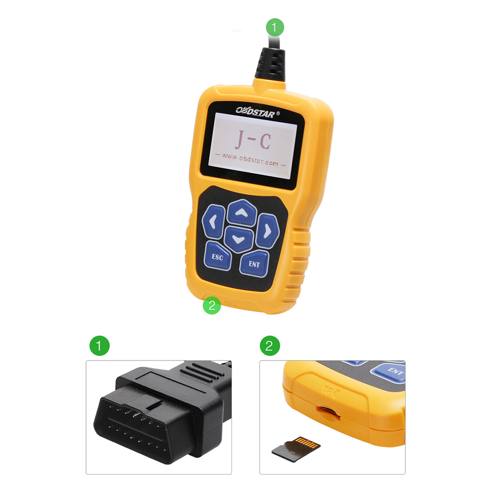OBDSTAR J C PIN Code Calculator Immobilizer tool No token Limit for Audi/for Chrysler /for Hyundai /for Kia update online-in Car Diagnostic Cables & Connectors from Automobiles & Motorcycles    3