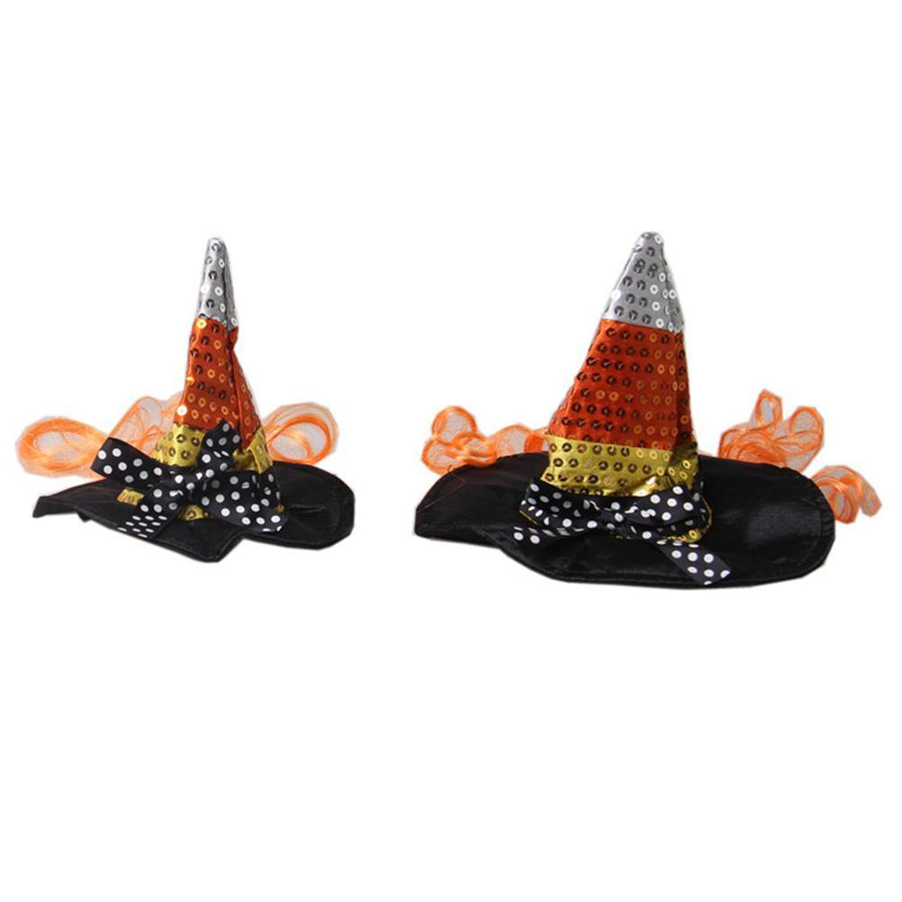 New Arrival Pet Decoration Festival Ball Decoration Hat Witch Pointed Cap Hat