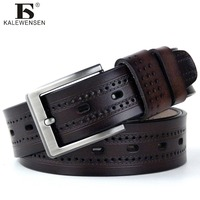 Hot Selling Fashion New Male Belt For Mens High Grade Cow Genuine Leather Belts Hot Sale