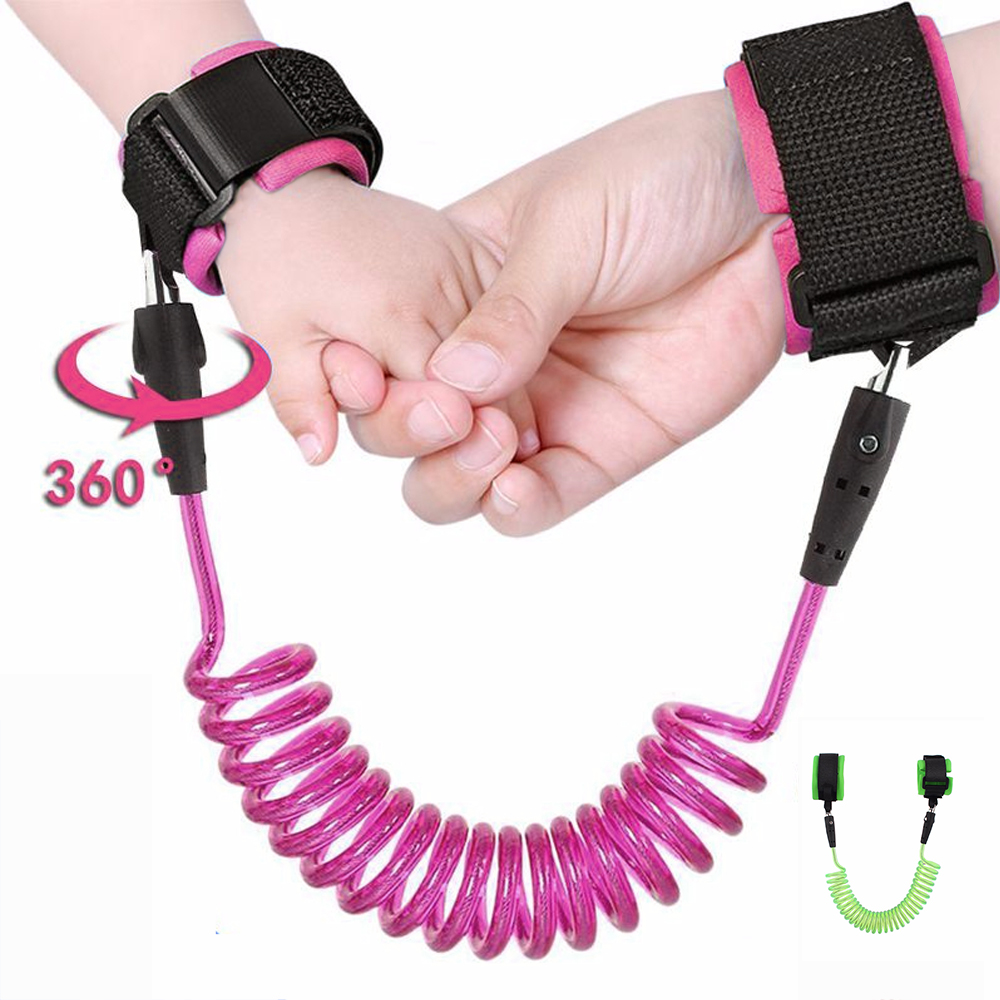 Anti Lost Wrist Belt Toddler Leash Safety Harness For Baby Strap Rope Outdoor Walking Hand Link Baby Care Travel With Child
