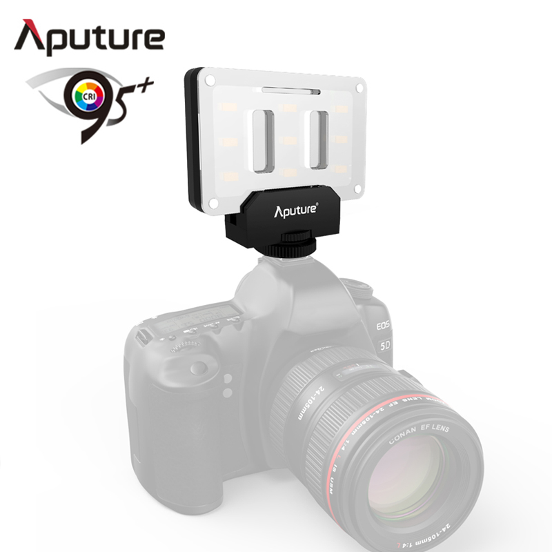 Aputure AL M9 LCI CRI 95 on camera fill light USB rechargeable light photography equipment light