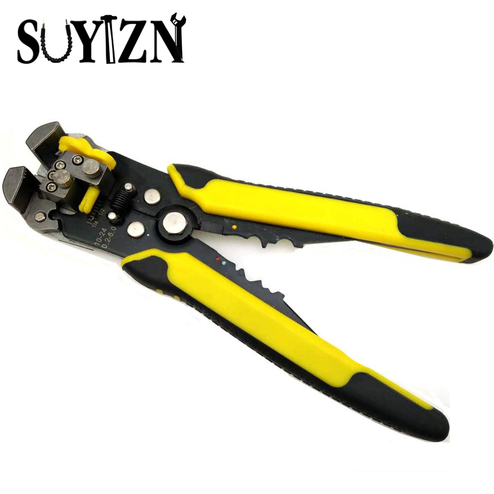 Multifunctional Automatic Wire Stripper Self Adjusting Crimper Cable Stripping Plier 26-16 AWG 0.14-1.5mm2 Cutting Crimping Hand  цены