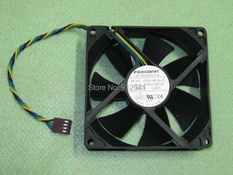 Original Foxconn PVA080F12H 8020 Cooler Cooling Fan PWM DC 12V 0.36A 5Pin 4-wire